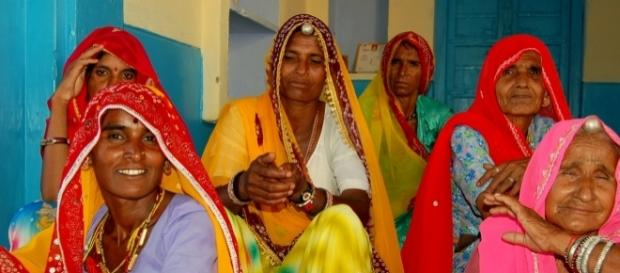 Elderly women are more at risk of witchcraft accusations in Rajasthan, India. Photo by Venkasub via Wikipedia Commons.