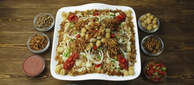 How to be a vegetarian in Egypt. Photo by Dina Said via Wikipedia Commons.