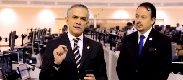 Miguel Ángel Mancera presenta la Alerta C5-CDMX