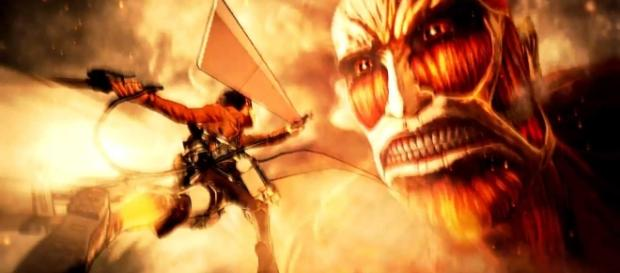 """Attack on Titan"": Amputee-kun is Eren Yeager; secrets of the Titan shifters. [Image Credit: PS360HD2/Youtube]"