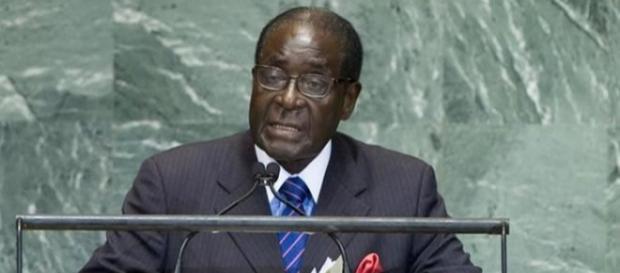 Zimbabwe president criticizes Trump in his UN speech. [Image Credit: YouTube/Zimpapers Online]