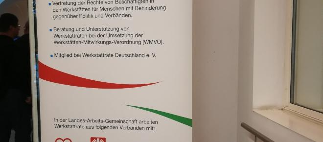 Sitzung der Landesarbeitsgemeinschaft der Werkstatträte am 20.09.2017 in Münster