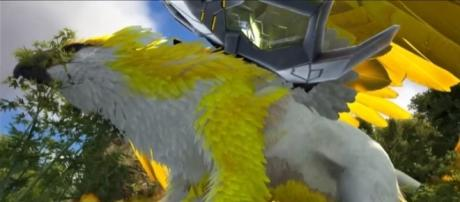 A Myth Griffin Emperor in 'ARK: Survival Evolved' - YouTube/KingDaddyDMAC