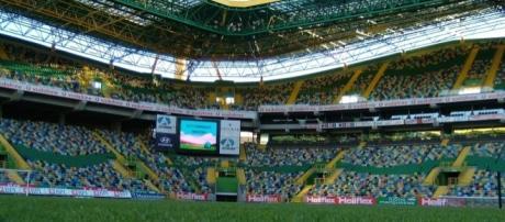 O Estádio de Alvalade é o palco do jogo entre o Sporting CP e o FC Barcelona