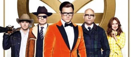 Promo Poster for Kingsman: The Golden Circle