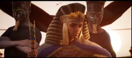 Ubisoft reveals that 'Assassin's Creed Origins' content is complete and the team is now polishing facial animations. Ubisoft US/YouTube