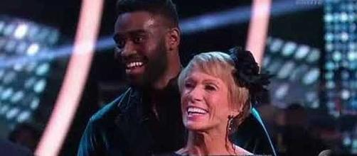 Barbara Corcoran and Keo Motsepe eliminated first on 'Dancing with the Stars' [Image: Media Galactic/YouTube screenshot]