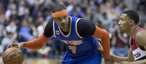 Carmelo Anthony to the Cavs fizzled when Knicks asked for Tristan Thompson/ photo by Keith Allison via Flickr.