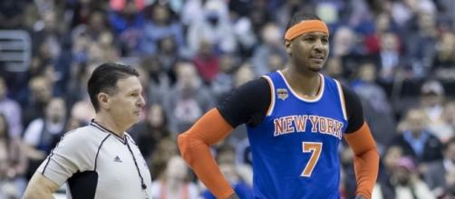 Carmelo Anthony traded to the Thunders (Image Credit - Keith Allison/Flickr)