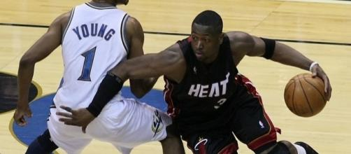 Dwyane Wade has reached a buyout agreement with the Bulls. Image Credit: Keith Allison / Flickr