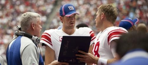 Coping with what looks to be a tough season for Eli Manning and the Giants. - AJ Guel via Wikimedia Commons
