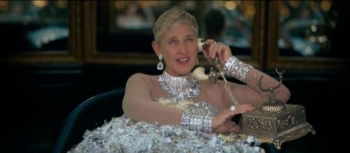 Ellen DeGeneres parody video, Image Credit: TheEllenShow / YouTube