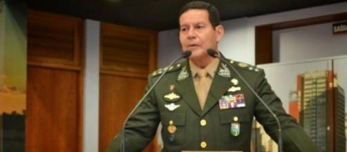 General Hamilton Mourão faz declaração importante