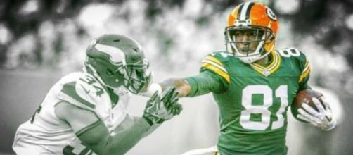 Geronimo Allison helps Aaron Rodgers get first overtime win of career- Photo: Liam Green / YouTube