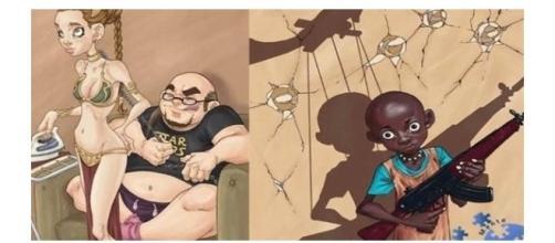 Ilustrações de valores virados