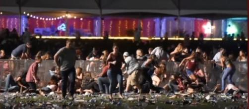 Las Vegas shooting survivor describes helping wounded friend-via ABC News youtube channel
