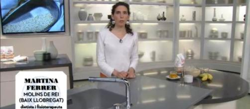 Martina Ferrer, dietista y fisioterapeuta