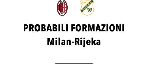 Milan-Rijeka: probabili formazioni, radiocronaca e dove vederla in ... - radiogoal24.it