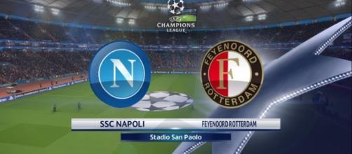 Napoli-Feyenoord diretta tv Canale 5