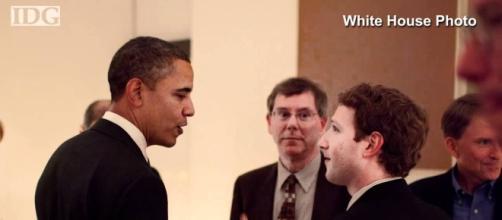 Obama incontrò Zucherbeg in privato a Lima