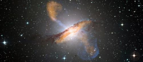 Origen de los rayos cósmicos más allá de la vía láctea.