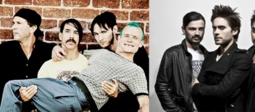Red Hot Chili Peppers e 30 Seconds to Mars