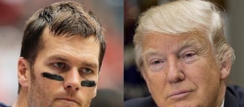 Tom Brady, Donald Trump, via Twitter