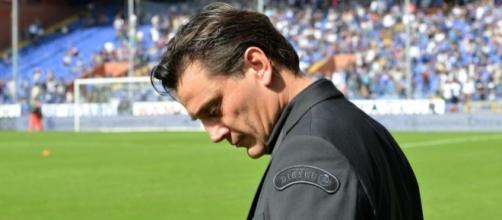 Vincenzo Montella, allenatore del Milan dal 2016.