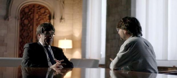 Entrevista de Jordi Évole a Puigdemont