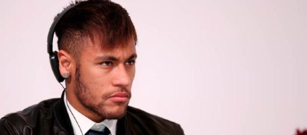 FC Barcelona's Neymar during a function in Doha. - https://www.flickr.com/photos/dohastadiumplusqatar/17145642931/