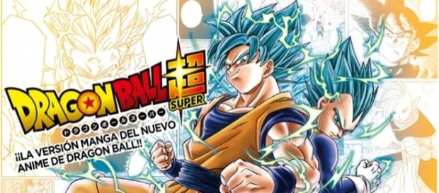Ilustración a color del manga de Dragon Ball Super