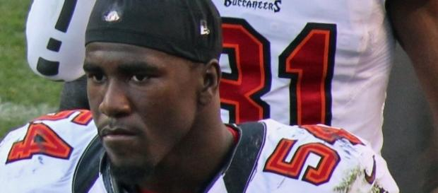 Lavonte David [Image by Jeffrey Beall|Wikimedia Commons| Cropped | CC BY-SA 3.0 ]