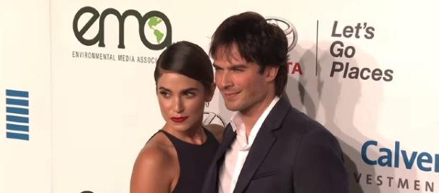 Nikki Reed and Ian Somerhalder faced birth control controversy. YouTube/ClevverNews