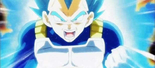 Vegeta on 'Dragon Ball Super' - Image via YouTube/BulmaBrief™