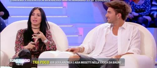 Andrea e Giulia contro Francesco Monte