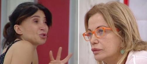 Carmen Di Pietro litiga con Simona Izzo al GF Vip