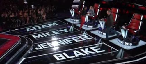 Chris Weaver gets a four-chair turn on 'The Voice' — [Image Credit: The Voice/YouTube screenshot]