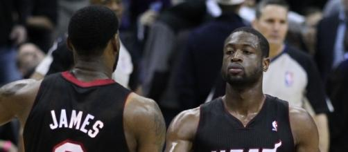 Dwyane Wade could join the Cavs- Photo by Keith Allison- https://www.flickr.com/photos/keithallison/5575833409