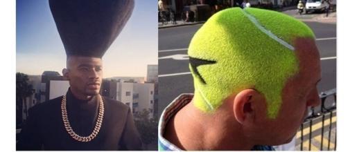 Estilos únicos e inovadores de cabelo