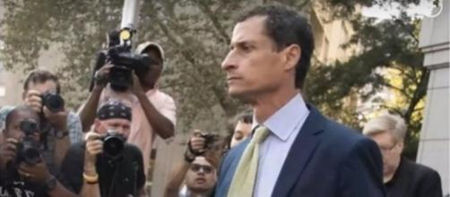 Former New York Congressman Anthony Weiner. (Image from Chris Simpson/Youtube)