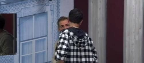 Grande Fratello vip Jeremia Rodriguez e Daniele Bossari
