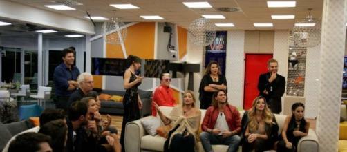 Grande Fratello VIP - Terza puntata - Lite in diretta tra Daniele Bossari e Ignazio Moser