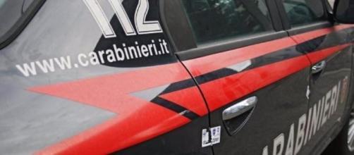 I carabinieri che hanno eseguito l'arresto
