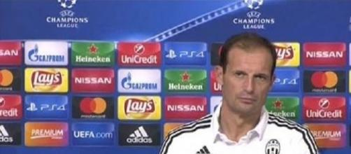 Il tecnico della Juventus Massimiliano Allegri