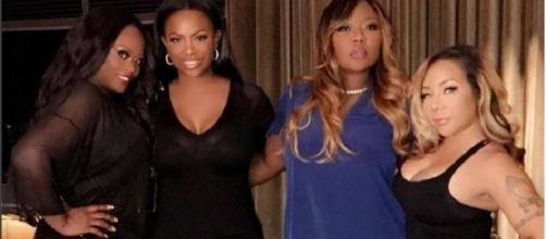 Kandi Burruss talks weight loss, Tamika Scott, Phaedra Parks lesbian rape rumors. Source Wikimedia