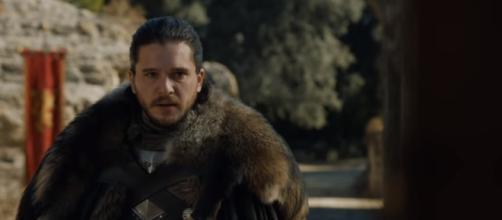 Kit Harrington as Jon Snow in Game Thrones. Credits to: Youtube/Game of Thrones