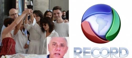 Marcelo Rezende morre e ajuda a audiência da Record
