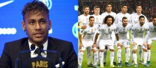 Neymar drague une star du Real Madrid !