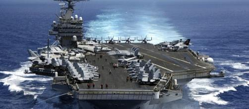 Nimitz-class aircraft carrier USS Carl Vinson (Image credit: Dusty Howell / Wikimedia Commons)