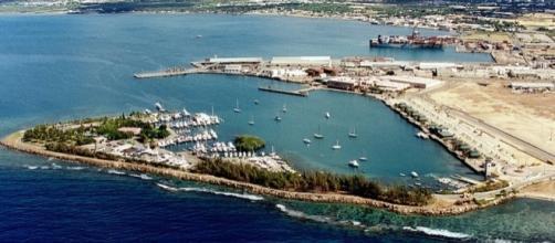 Port at Ponce, Puerto Rico, on the Caribbean Sea (Image credit - Tony Santana - Wikimedia Commons)